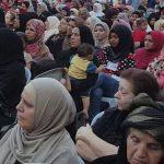 حشود غفيرة من سيدات الزرقاء في مقر كتلة يقين اليوم برعايه الدكتور محمد نوح صور مذهله