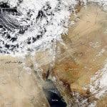 المنخفض الجوي يبدا الجزء الاقوى منه يوم الاثنين 16/12/2013 تحذير لايغركم جو يوم الاحد